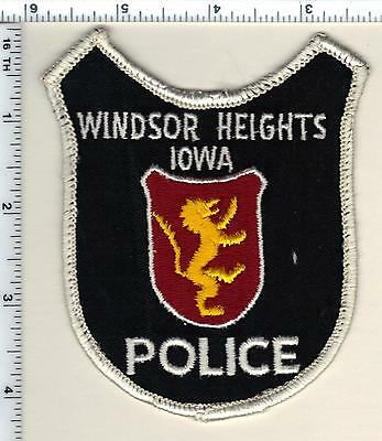 Windsor Heights Police (Iowa)  Shoulder Patch - new from 1990