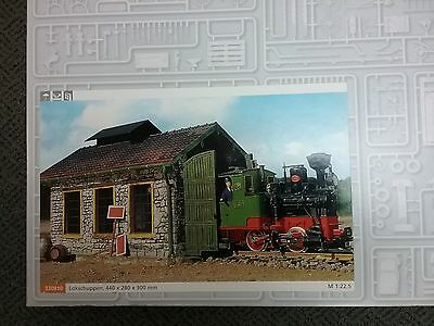 POLA LGB 330910 Engine Shed Building Kit NEW Made in Germany