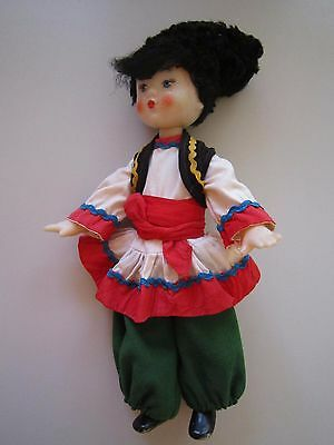 "Doll. ""HUTSUL"". National Costume. THE USSR"