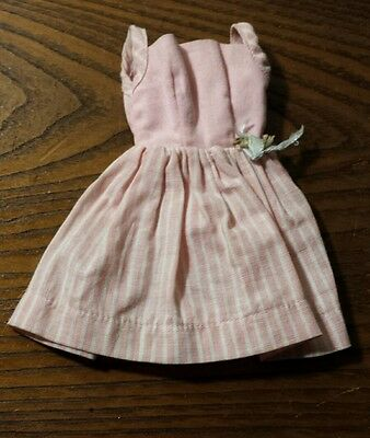 Vintage 1960's Ideal Tammy Fashion Afternoon Pink Dress