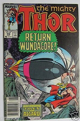 Vol. 1 # 406 THE MIGHTY THOR COMIC 1989 VF+