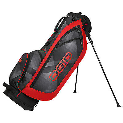 2016 Ogio DIME Golf Stand Bag Cyber/Red