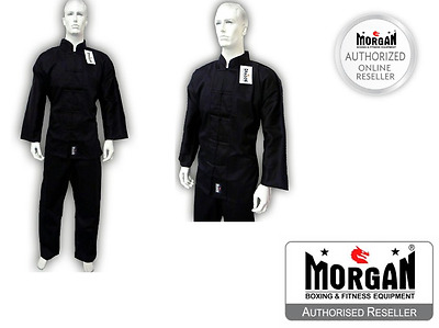 MARTIAL ARTS Gi KUNG FU UNIFORM 0001234567 BLACK Shaolin Wing Chun new G.I BNIP