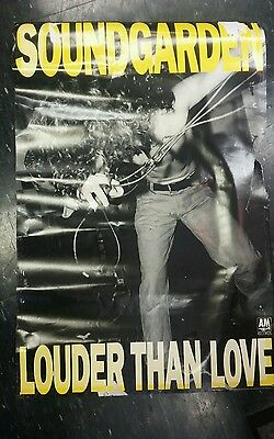 """Soundgarden Louder Than Love RARE Full size 24""""x36"""" poster '89...Collectable☆☆☆☆"""