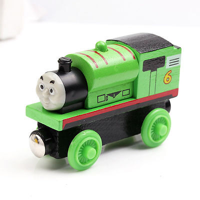 Percy The Tank Engine Wooden Train Magnetic Brio Compatible Uk Seller