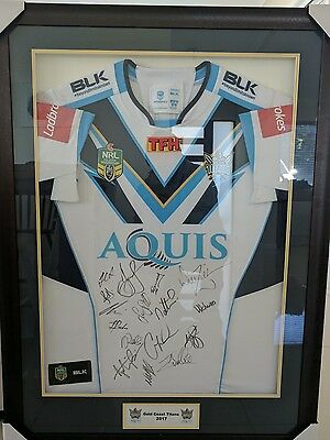 2017 Gold Coast Titan signed Jersey