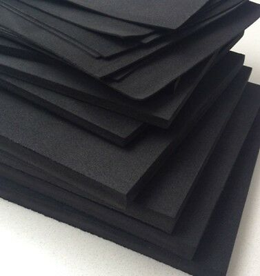 LOT 1/2/5/10pcs ESD Anti static High Density Foam 250x250mm 3/5/10mm 9.84〃X9.84