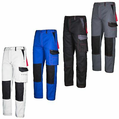 Work Pants Knee-Breeches Protective Clothing Workwear Trousers White craftland