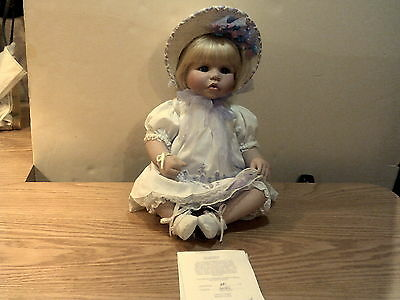 Marie Osmond Porcelain Sweet Bonnie Doll