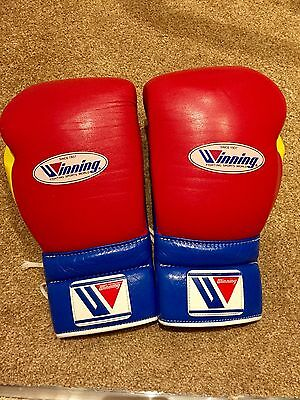 Winning 14oz Genuine Custom Colour Boxing Gloves