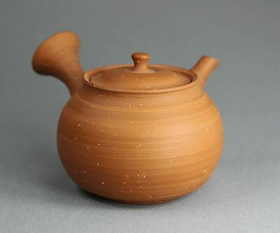 Tokoname Shudei(Red Clay) Rihi Teapot Kyusu by Gisui, #gisui66, D72*H63mm 120ml