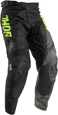 Thor S17 Youth Pulse Activ Motocross Pants Lime/Black