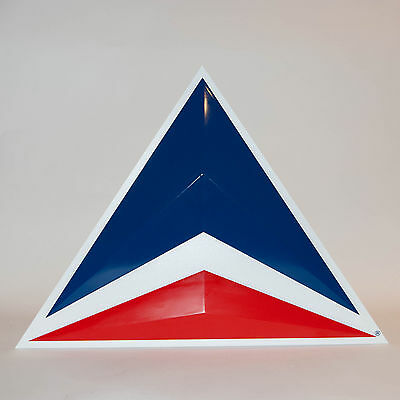 "Delta Airlines Triangle Logo Wall Sign 18"" Tall 