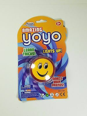 Arcady Amazing Yoyo For Kids Learn Tricks Play Fun Time Lights Up Brand New