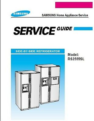 Repair Manual: Samsung REFRIGERATORS (choice of 1)