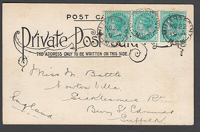 NSW - 1904 cover from Millers Point