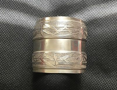 Antique Sterling Silver Gorham Napkin Ring Aesthetic 1852 to 1865 Mark