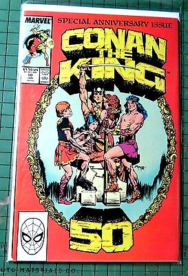 Conan The King #50  Marvel Comics Copper Age Comic  CB720