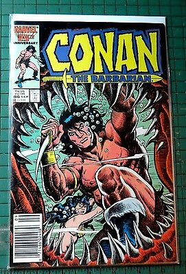 Conan The Barbarian #186 Marvel Comics Copper Age  CB848