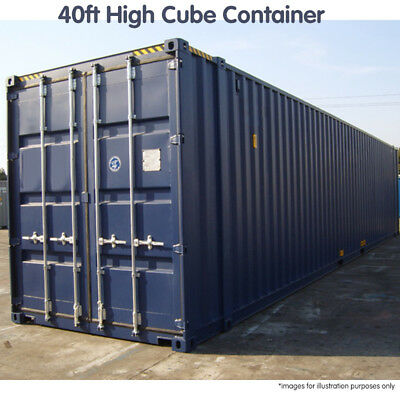 40ft High Cube Shipping Container Storage PICK-UP only