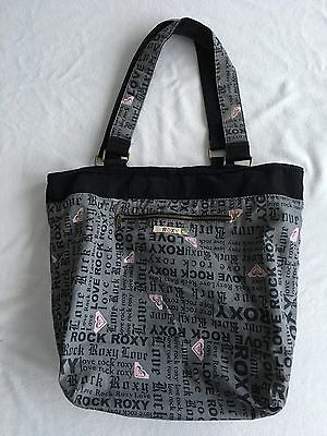 Roxy Large Sized Tote Beach Travel Bag Purse