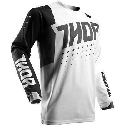 Thor S17 Youth Pulse Aktiv Motorcross Jersey Black/White