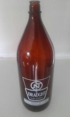 NT draught beer bottle 2 litres