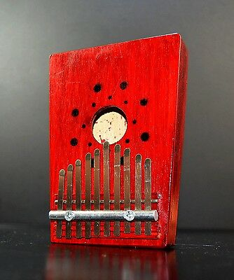 ♫10 Keys Kalimba Mbira Likembe Hollow Thumb Finger Piano Music Instrument Sanza♪