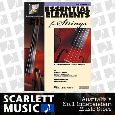 Essential Elements For Strings Book 2 (Two) - Violin - w/EE Interactive.