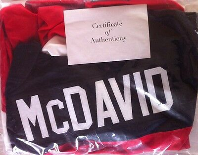 Connor McDavid  Team CAN 2014 autographed jersey