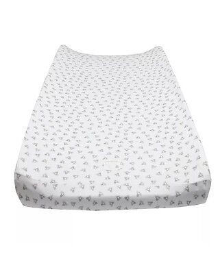 Burt's Bees Baby Honey Bee Changing Pad Cover, Heather Grey Baby Infant Toddler