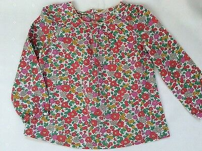 Girls mini boden 5 6yrs long sleeve beautful floral top for Mini boden germany