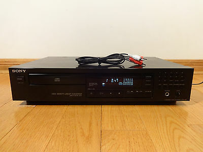 Sony CDP-195 Single CD Compact Disc Player 1992 Japan TESTED 100% Works Great!