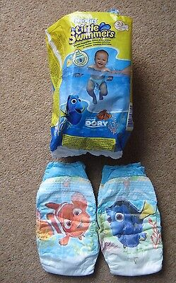Huggies Little Swimmers Swim Nappies Size 2-3 (3kg - 8kg, 7lb - 8lb) Pack of 8