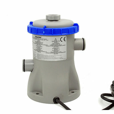 Bestway Water Pump Filter for Home Swimming Pool Cycling Filtration 58381