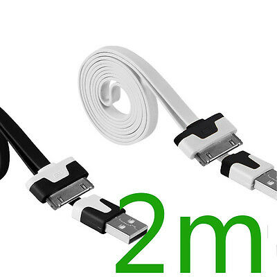 20cm/1m/2m/3m USB Sync Charger Cable Cord For iPhone 4 4S iPad 2