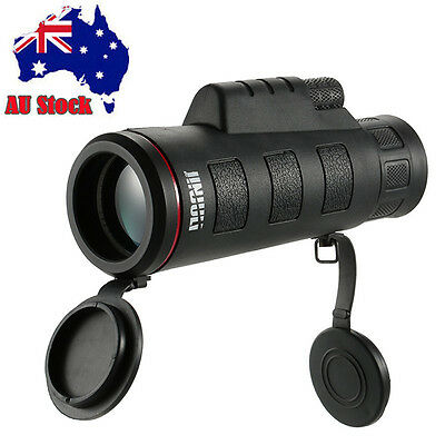 AU Stock 35x50 HD Day Night Vision Monocular Telescope Phone Clip Camping Hiking