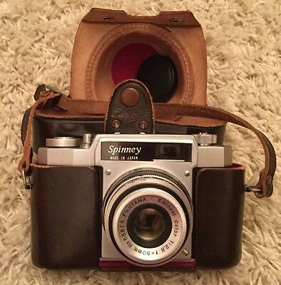 VINTAGE SPINNEY CAMARA made In Japan With Case (1117)