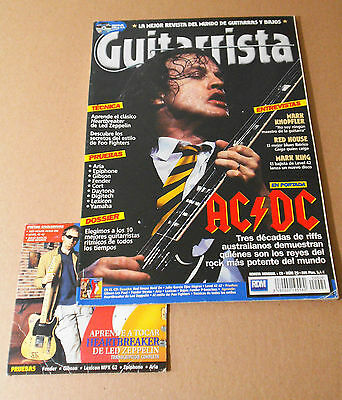 "revista magazine + CD ""Guitarrista"" Nº29, AC/DC, heartbreaker..."