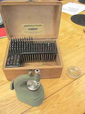 "Vintage ""Favorite"" Staking Set - Watch Making - Repair Tool Over 100 Pieces"
