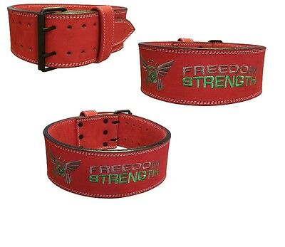 Freedomstrength® RED power lifting weight lifting belt IPF