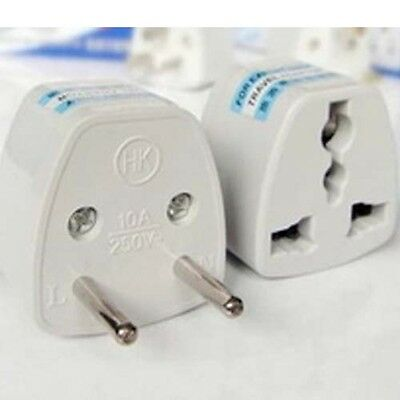 Thailand Mexico Adapter 2 Pin Japan 2x Power Plug Australia Travel to China