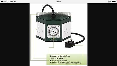 Greenpower 2 Way Pro Best Cheap Contactor Relay Timer For Grow Light Hydroponics