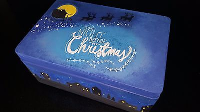 Personalised Hand-painted Wooden Christmas Eve Box