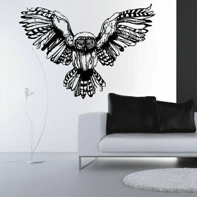8042f75f5 COW SKULL WITH feathers indian painted R/L/M VINYL DECAL STICKER ...