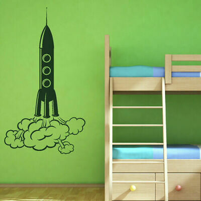 Wall Decal Vinyl Sticker Decals Kids Nursery Rocket Space (Z1317)