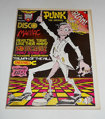 Punk #16 Punk Rock Magazine Dec 1978 ~ Sid Vicious & Nancy Spungen Boomtown Rats