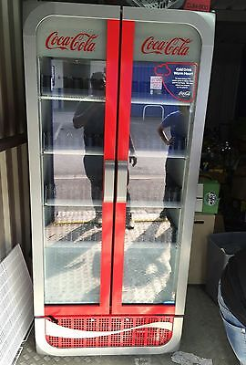 Coca Cola Glass Doors Fridge Display Chiller Merchandiser