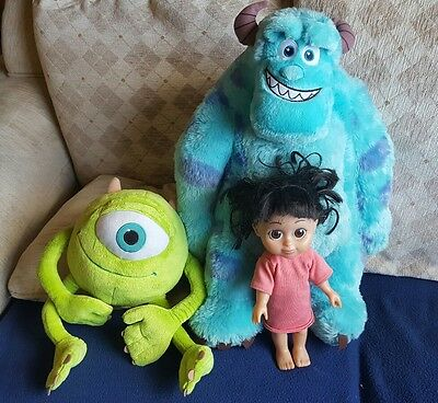 "10-22"" monsters inc sulley mikey boo"