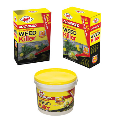 Doff Knock Down Super Strength Glyphosate Weed Killer - Various Sizes